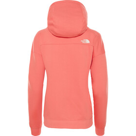 The North Face Light Drew Peak Hoodie Dame spiced coral